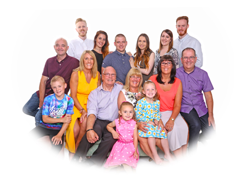 family group photography leicester
